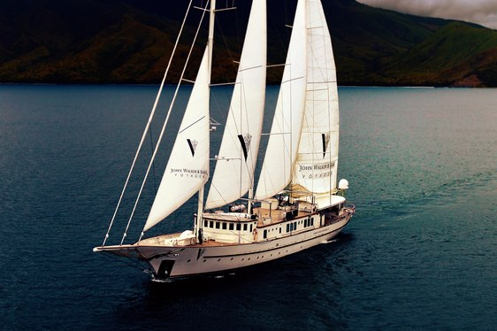 Johnnie Walker Voyager - Luxury Corporate Charter Yacht used to break emerging markets