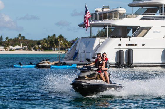 Charter Yacht W Attending Palm Beach Boat Show 2018