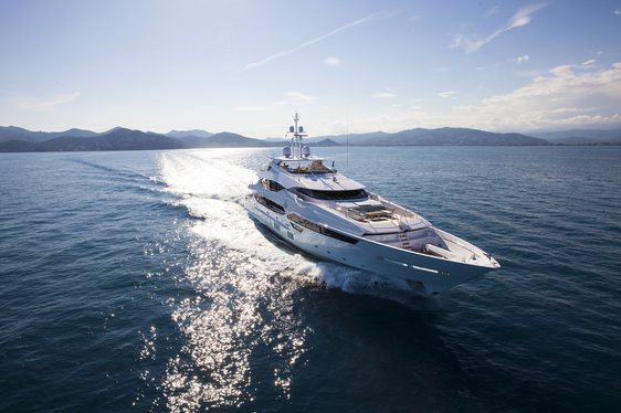 Superyacht BLUSH Available in Ibiza from September