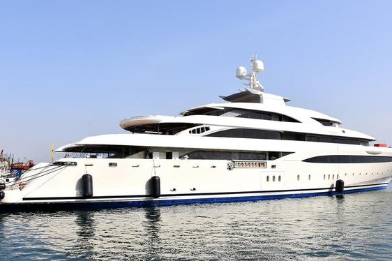 85m superyacht O'PTASIA delivered from Golden Yachts