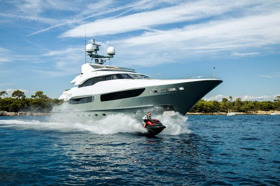 Refit superyacht LEGENDA available to charter for the first time ever