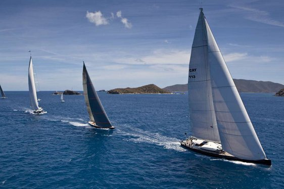 loro piana superyacht regatta & rendezvous in british virgin islands