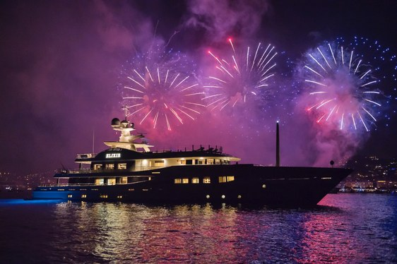 Superyacht ELIXIR Wins Baccarat SuperYacht World Award 2016 at Monaco Yacht Show