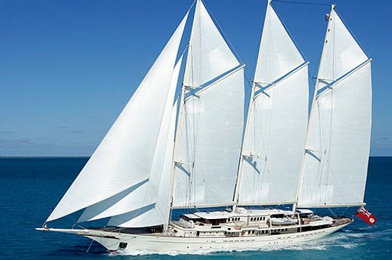 Athena on Display at Monaco Yacht Show 2012