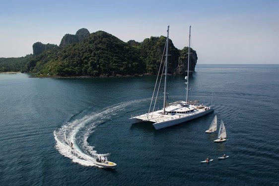 Catamaran 'Douce France' Offers Seychelles Charters