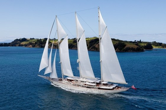 Luxury Sailing Yacht ATHENA Accepting Charter Offers