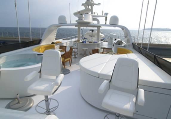 Inspiration Yacht Sundeck