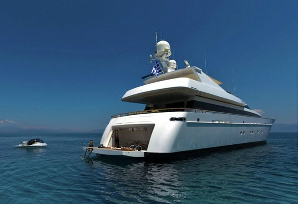 Mabrouk Yacht Stern
