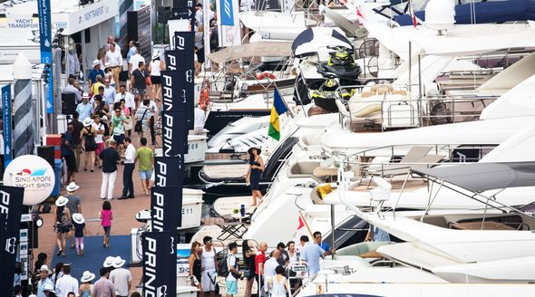 Singapore Yacht Show 2020