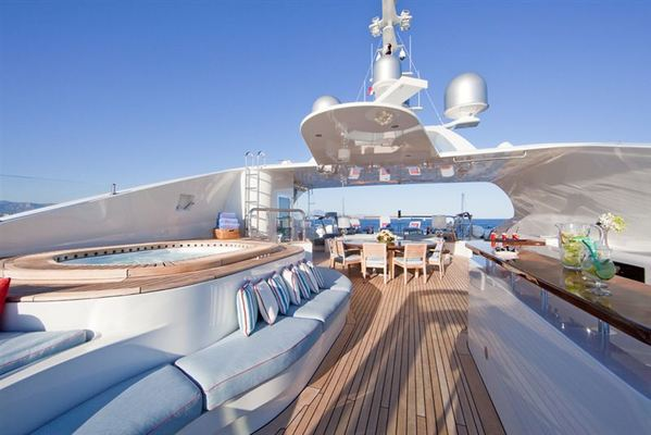 Latitude Sundeck from Bow