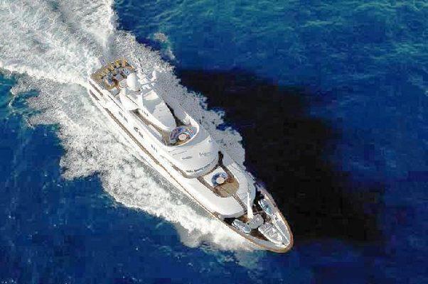 Starfire Yacht Aerial View