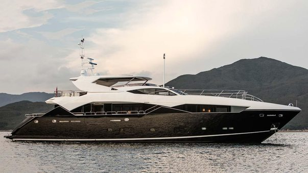 Sunseeker superyacht OKSANCHIK joins Mediterranean charter fleet