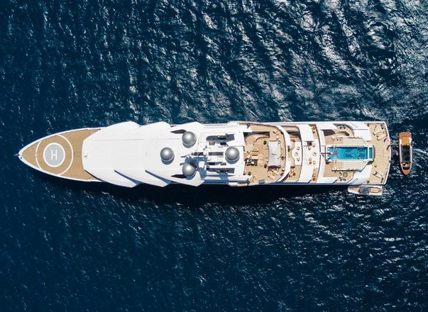 Could 106m superyacht AMADEA appear at the Monaco Yacht Show 2019?