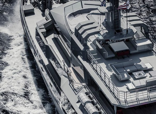 85m expedition yacht BOLD now open for luxury yacht charters