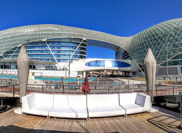 Superyachts on the scene for the Abu Dhabi Grand Prix 2019