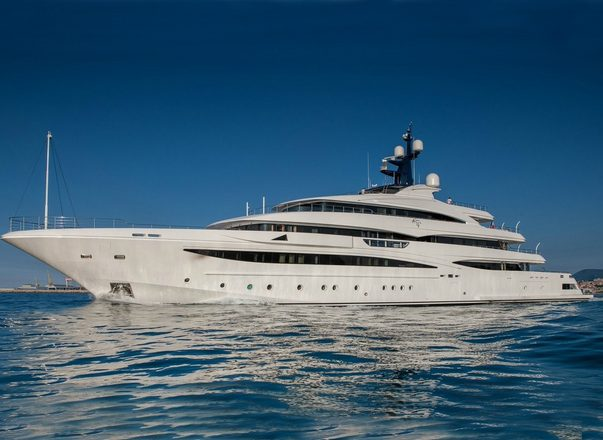 74m CRN superyacht ODYSSEY rejoins the charter fleet