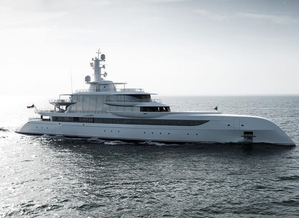 80m superyacht EXCELLENCE joins the yacht charter fleet