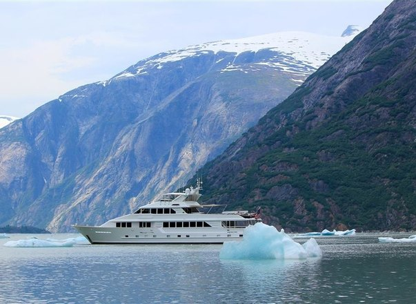 Luxury Yacht TALOS Charters in Alaska and San Juan Islands