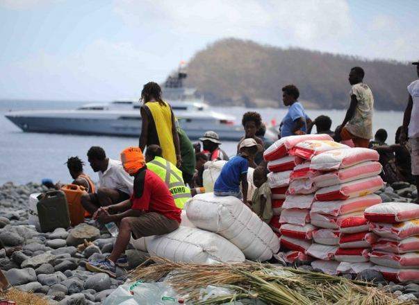 Superyacht DRAGONFLY Helps Cyclone Victims in Vanuatu