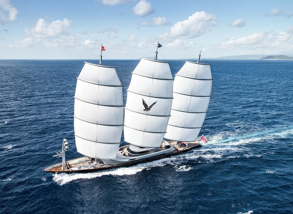 Sailing yacht 'Maltese Falcon' offers unmissable East Mediterranean yacht charter special