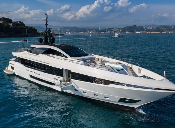 Luxury yacht MA joins Mediterranean charter fleet