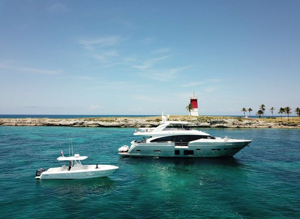Superyacht 'Hot Pursuit' available for Bahamas charter this holiday season