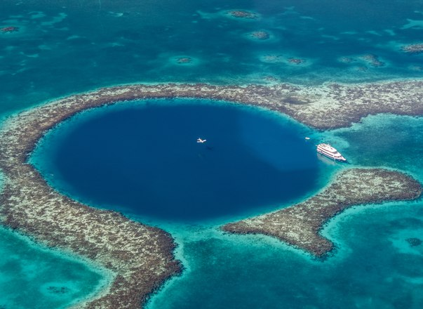 Destination of Belize, perfect for superyacht vacations