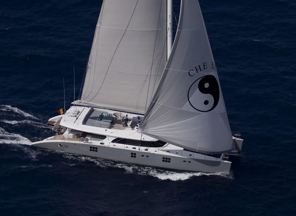 Luxury Catamaran CHE Available in South East Asia