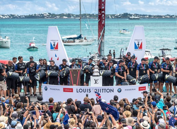 Emirates Team New Zealand Wins 35th America's Cup