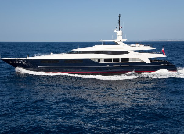 Enjoy the Rugby World Cup from Superyacht MISCHIEF