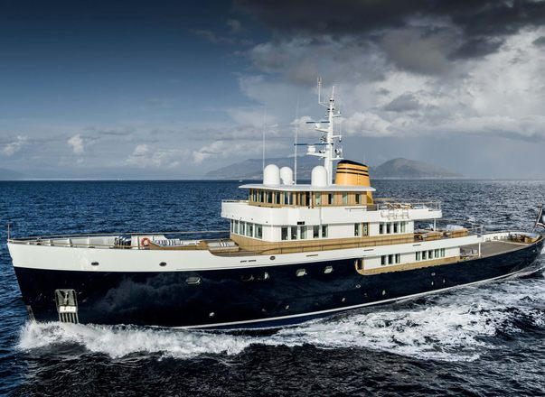 Brand new for charter: 56m explorer yacht 'Blue II'