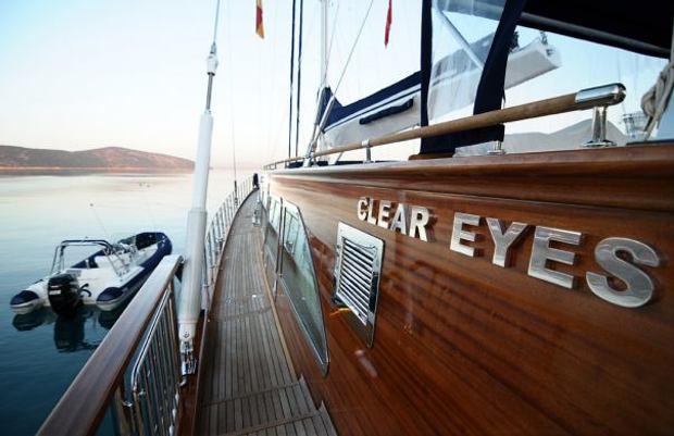 Clear Eyes Side Deck