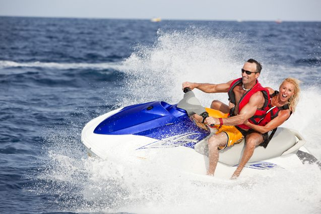 Enjoy some watersports fun at Shroud Cay