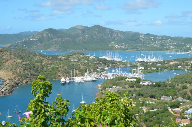 Superyachts Prepare for the Antigua Charter Show