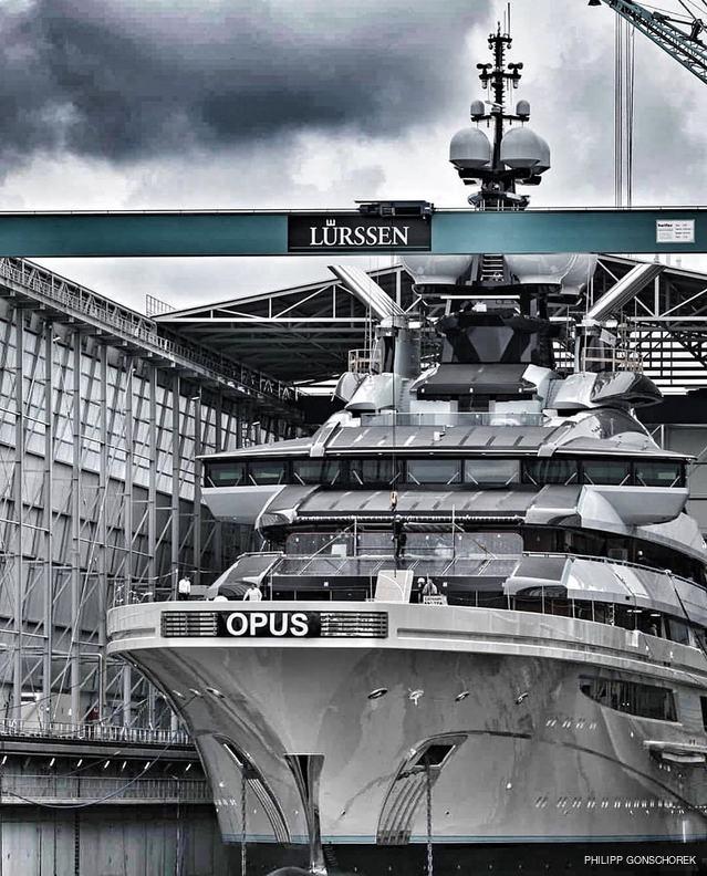 lürssen yacht project opus