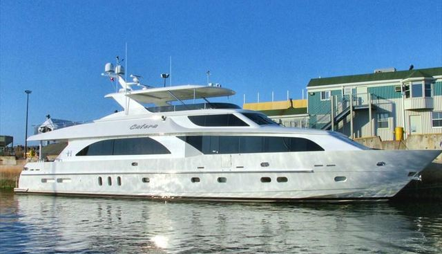 Catera Charter Yacht