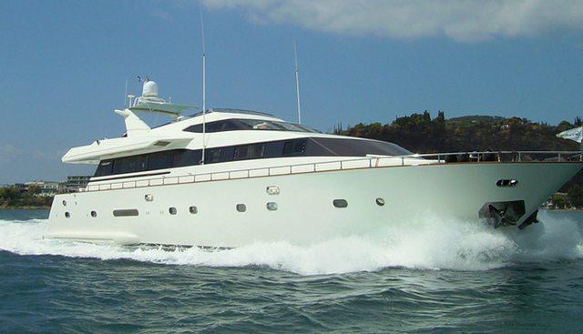 Dynasty Charter Yacht
