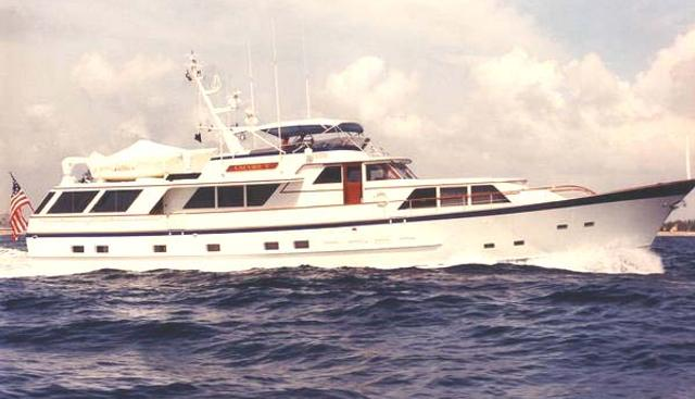 Encore V Charter Yacht