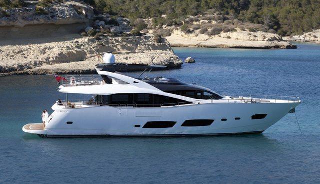 RAY III Charter Yacht
