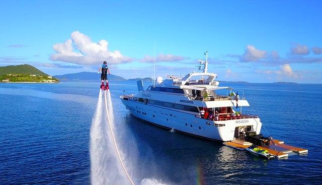 Miraggio Charter Yacht