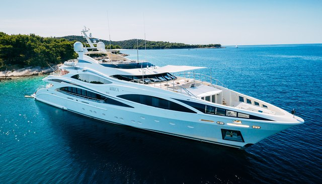 AFRICA I Yacht Charter Price - Benetti Luxury Yacht Charter