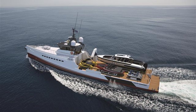 Yacht Support 4008 Charter Yacht