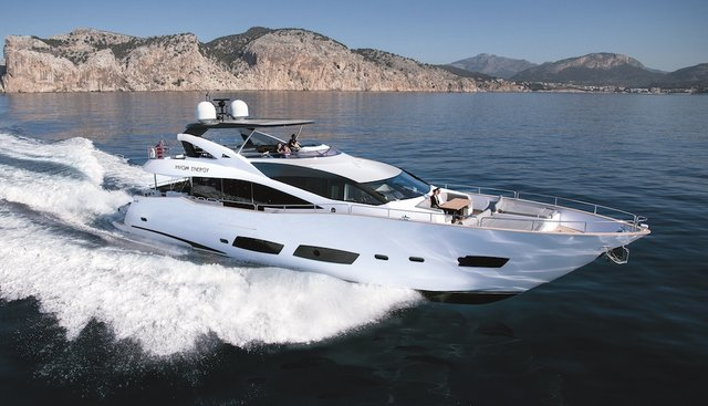 High Energy Charter Yacht