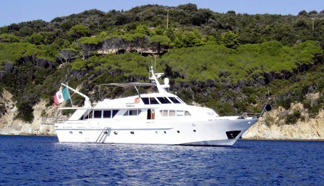 Milagros III Charter Yacht