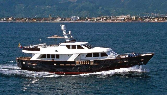 Benetti Navetta 82 Charter Yacht