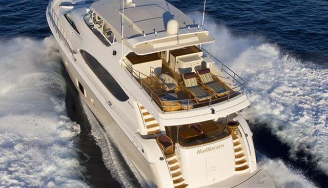 Hatteras 80 Charter Yacht - 2