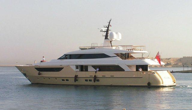 Santa Anna B Charter Yacht