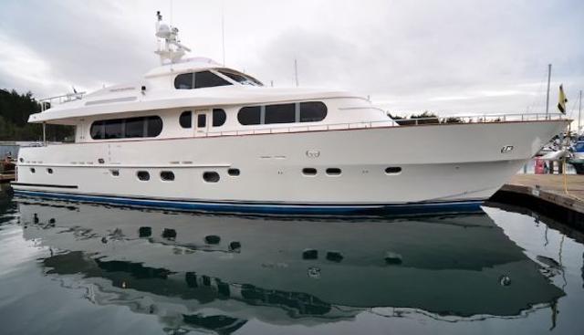 Happiness II Charter Yacht