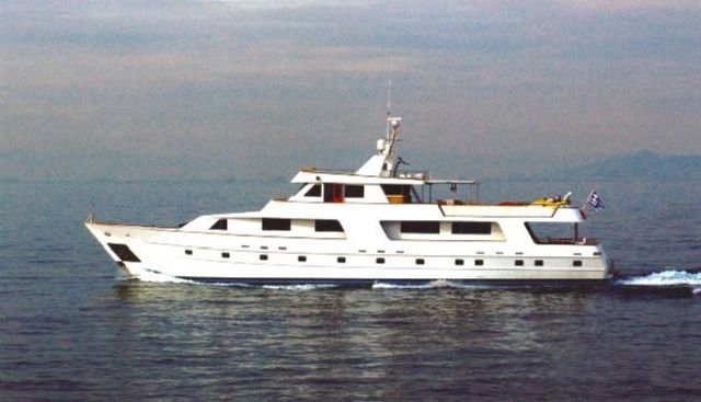 Steel Motor Yacht Charter Yacht