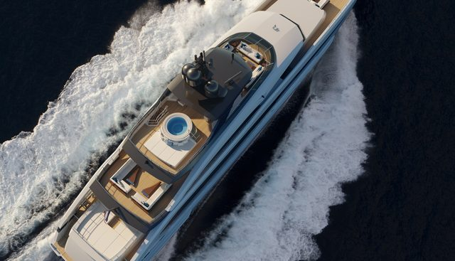 Project Aquamarine Charter Yacht